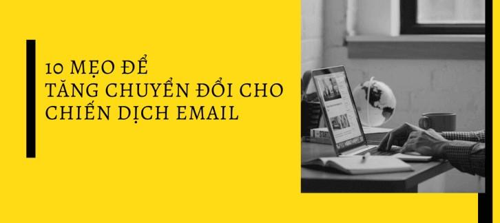 các chiến dịch email marketing hiệu quả hơn