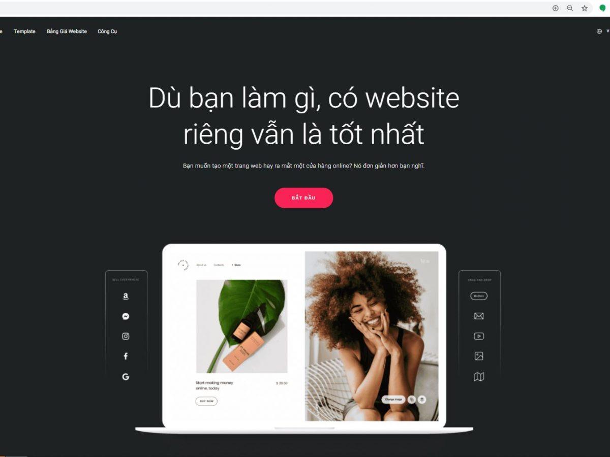 website riêng