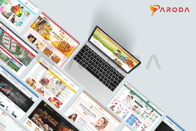 Nền tảng tạo trang web bán hàng, Paroda có gì?