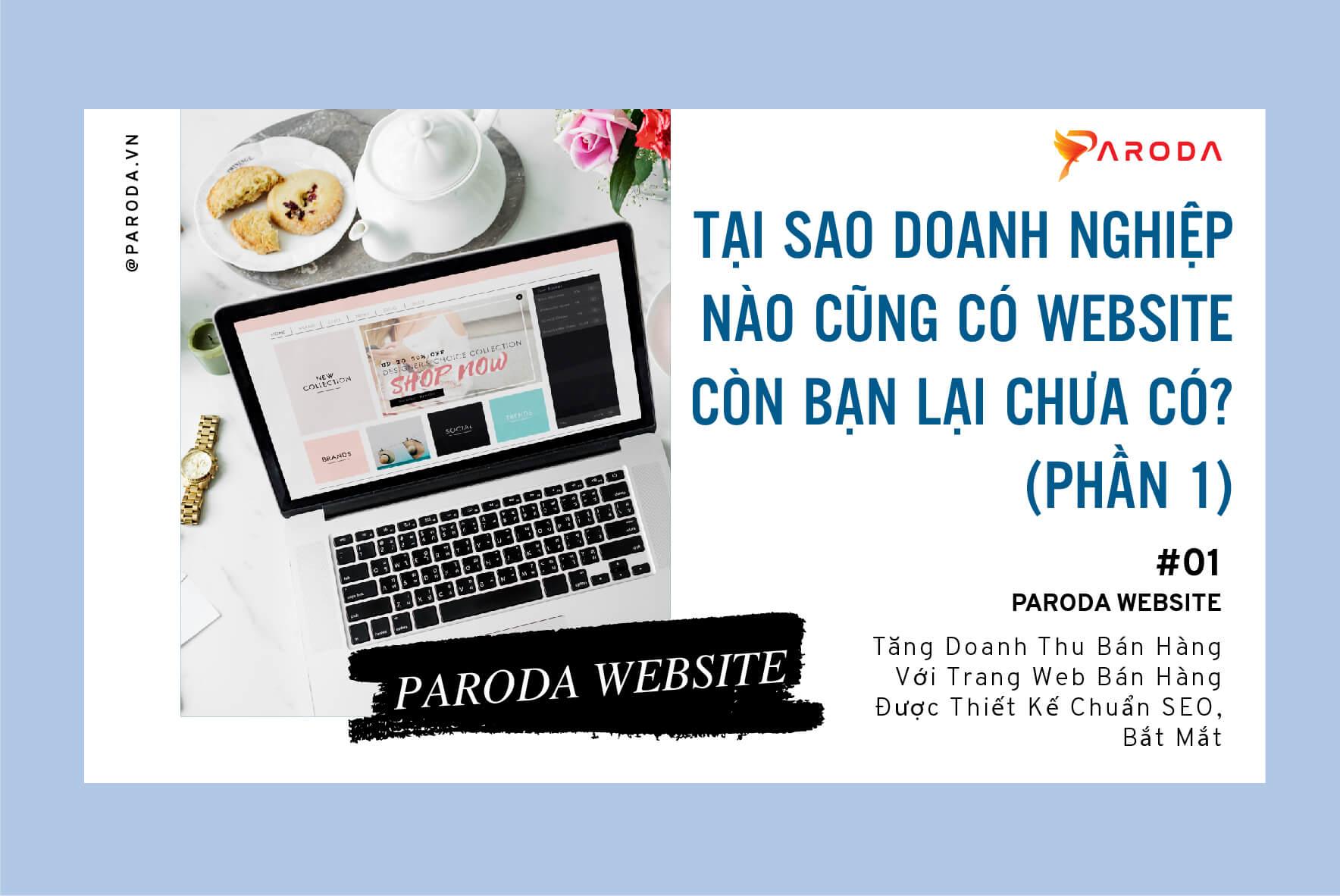 Tại sao doanh nghiệp nào cũng có website