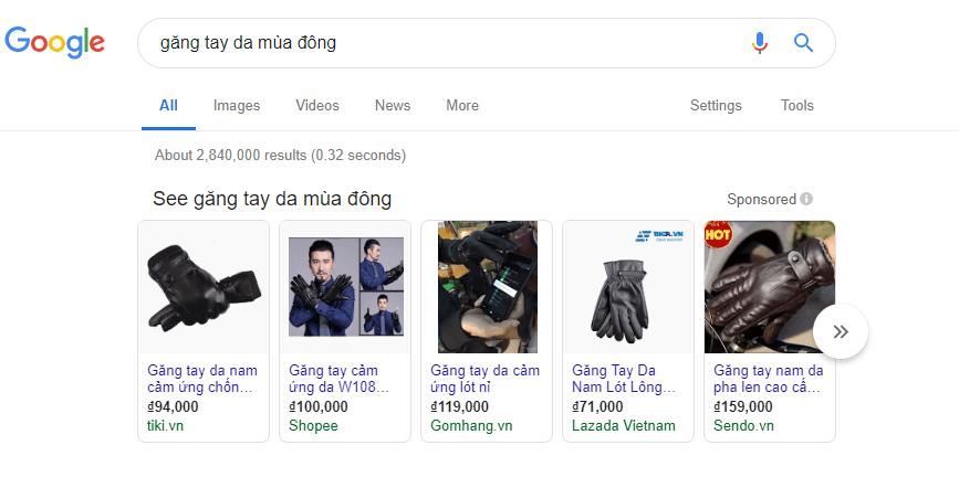 Google Shopping Là Gì?