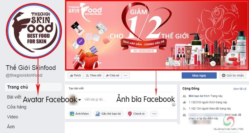 Kích Thước Avatar Facebook