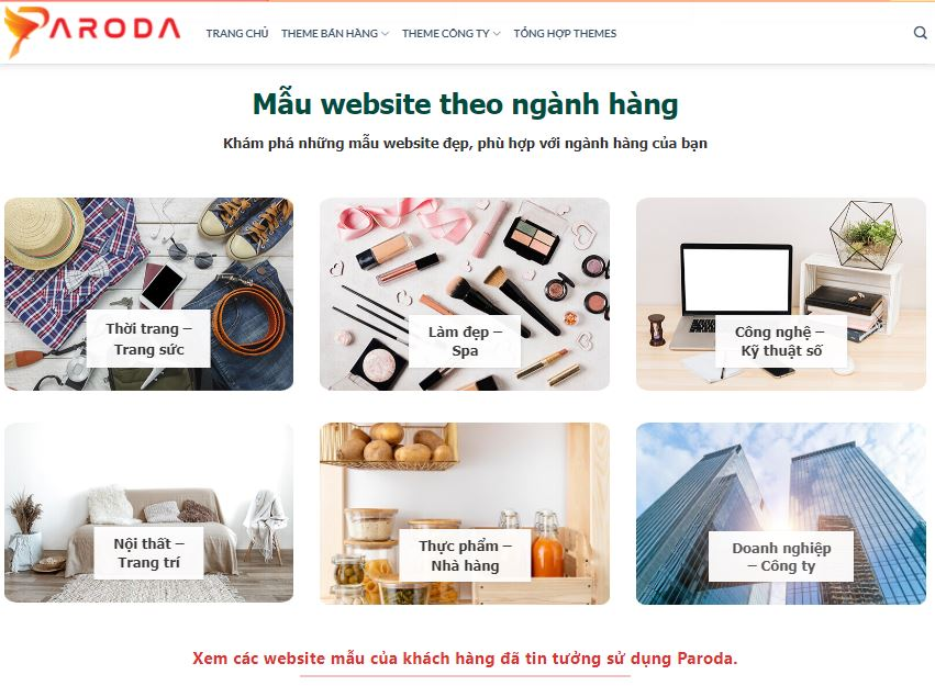 Thiết kế website trọn gói - Giải pháp dành cho doanh nghiệp & chủ shop