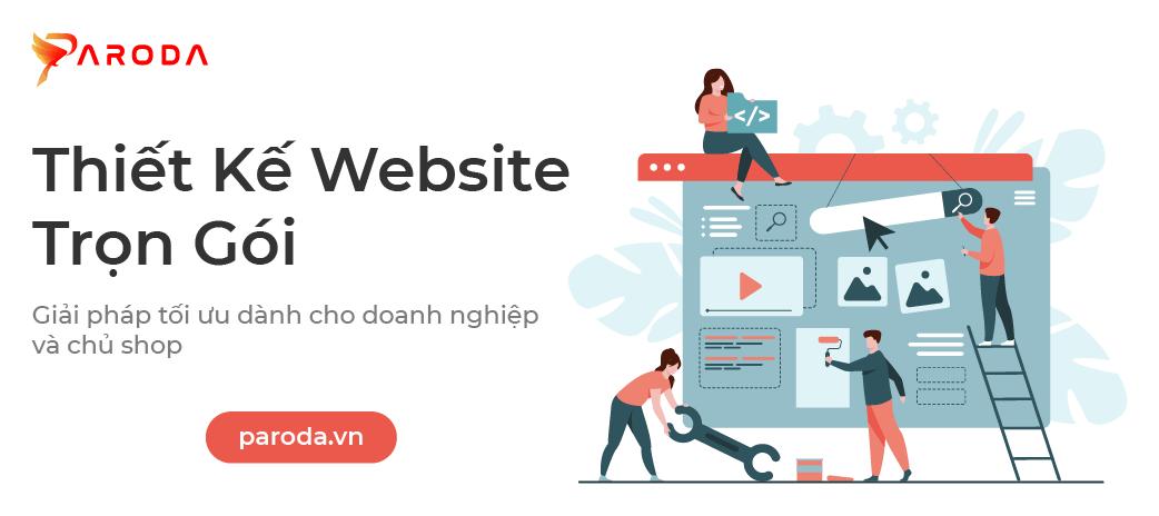 Thiết kế website trọn gói - Giải pháp cho doanh nghiệp & chủ shop